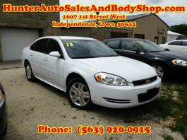 2013 Chevrolet Impala White 4 Door Car for Sale