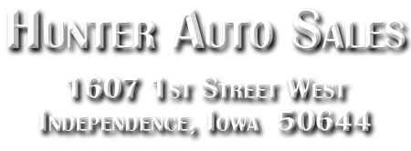 Hunter Auto Sales and Body Shop - Independence, Iowa